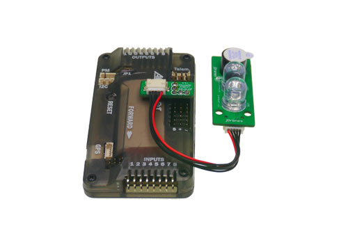 adding external led indicators and a piezo beeper for arm and gps board can be found from here